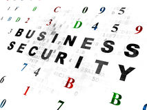 Protection concept: Business Security on Digital Royalty Free Stock Photography