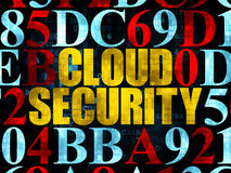 Protection concept: Cloud Security on Digital Stock Photography