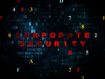 Protection concept: Corporate Security on Digital Royalty Free Stock Photo