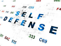 Protection concept: Self Defense on Digital Stock Photos