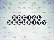 Protection concept: Social Security on Digital Stock Photography