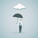 Protection contre la crise économique Photo stock