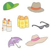 Protection contre le soleil Photo stock