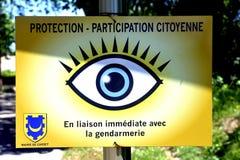 Protection contre le vol par alerte image libre de droits