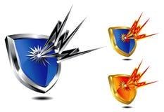 Protection d'écran protecteur illustration libre de droits
