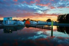 Protection d'inondation de tempête Image libre de droits