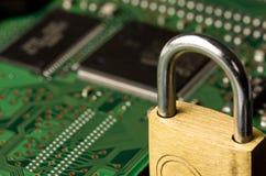 Protection d'ordinateur Images libres de droits