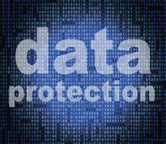 Protection Data Indicates Encryption Forbidden And Protected Royalty Free Stock Photos