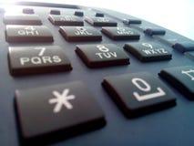 Protection de cadran de téléphone de terre Photo stock