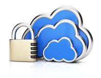 Protection de calcul de nuage illustration de vecteur