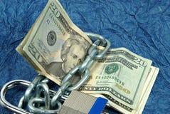 Protection de crédit photo stock