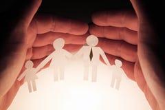 Protection de famille Photos libres de droits