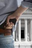 Protection de témoin Photos stock