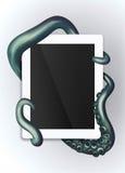Protection de tentacules Photos stock