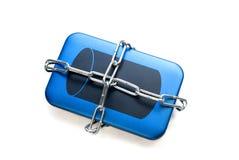 Protection des données Photographie stock