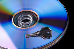 Protection des données Image stock