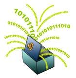 Protection des données Photo libre de droits