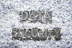 Protection des données Photo stock