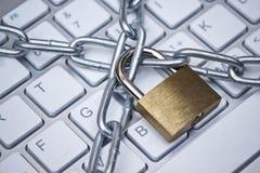 Protection des données d'ordinateur photo libre de droits