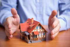 Protection (domestic property insurance concept) Stock Photography