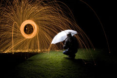 Protection firework Royalty Free Stock Images