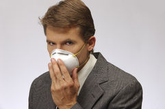 Protection from flue, H1N1 Royalty Free Stock Photo