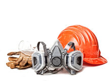 Protection gear Stock Image