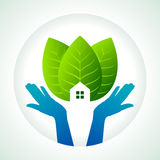 Protection of green, save earth Stock Photography