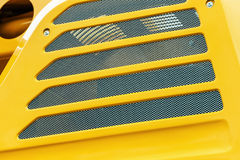 Protection grille of the tractor engine Royalty Free Stock Photography