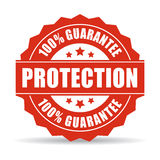 100 protection guarantee icon. 100 protection guarantee, vector illustration Royalty Free Stock Image