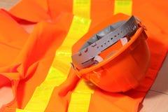 Protection helmet Stock Photo