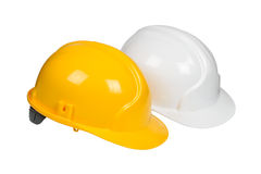 Protection helmets Stock Photography