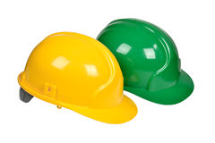 Protection helmets Royalty Free Stock Photography