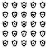 Protection Icon set Stock Image