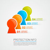 Protection info Royalty Free Stock Image