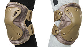 Protection for the knees and elbows Stock Image