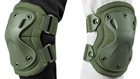 Protection for the knees and elbows Stock Photos