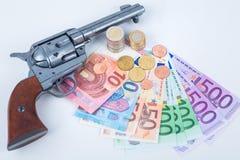 Protection money Royalty Free Stock Photo