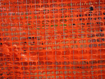 Protection net from pieces of plaster Stock Photography
