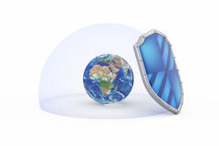 Protection of the planet earth concept Royalty Free Stock Images