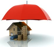 Protection of property Stock Images
