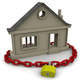 Protection of real estate. Concept Royalty Free Stock Image