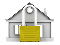 Protection of real estate. Concept Stock Images