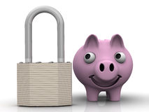 Protection of savings. Concept Stock Photo