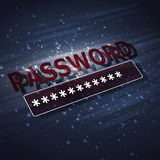 Protection Security Password Royalty Free Stock Images