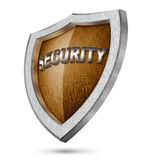 Protection shield Royalty Free Stock Images