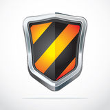 Protection shield security icons. Stock Images