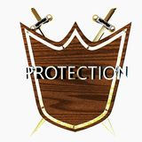 Protection shield with swords Royalty Free Stock Photos