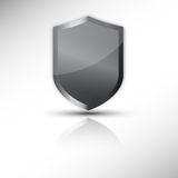 Protection shield vector icon. This is file of EPS10 format Royalty Free Stock Photo