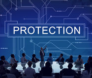 Protection Surveillance Safety Privacy Policy Concept Royalty Free Stock Image